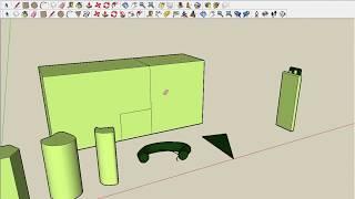 Урок 2 группа, компонент, стили и расширенная панель инструментов в SketchUp.