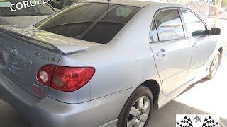 Toyota Corolla S 2007 | Revisión | Autos Martinez