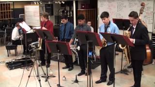 NPHS Jazz Combo 1 - Georgia On My Mind