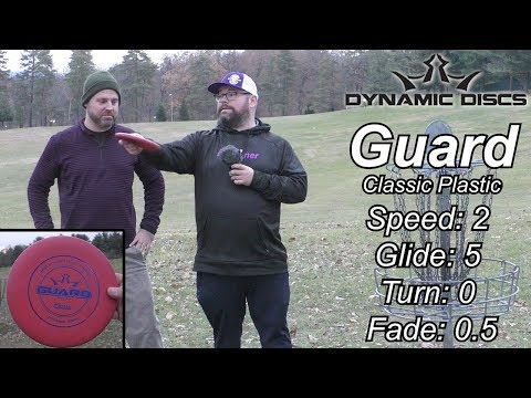 GET EXTRA DISTANCE! Dynamic Discs Guard Review - Classic Plastic