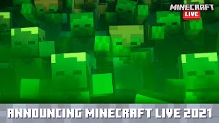 Minecraft Live 2021: Announcement Trailer