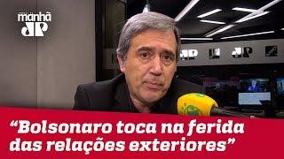 Villa: Bolsonaro defende a democracia e toca na ferida das relações exteriores