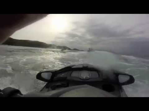 Jet Skiing in Guernsey (HD 720p)