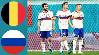 БЕЛЬГИЯ РОССИЯ ЕВРО 2020 1 Й ТУР ГРУППА Б ОБЗОР FIFA Ванга прогноз
