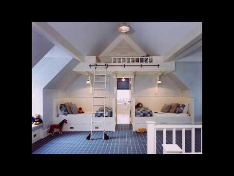 Dachboden schlafzimmer design ideen