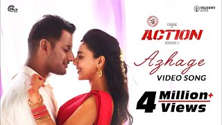 Action | Azhage Video Song | Vishal, Aishwarya Lekshmi | Hiphop Tamizha | Sundar.C