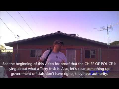Anthony New Mexico Open Carry Harassment