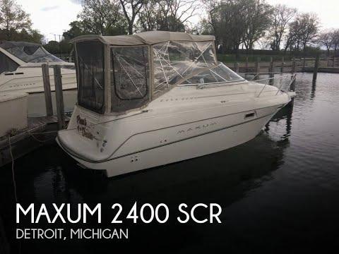 UNAVAILABLE Used 1999 Maxum 2400 SCR In Detroit Michigan