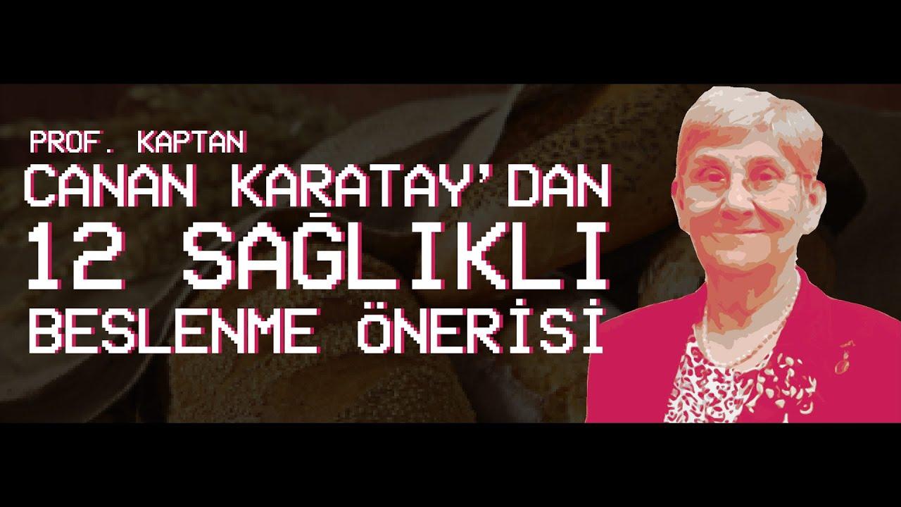 Canan Karatay en sağlıklı yemeği açıkladı