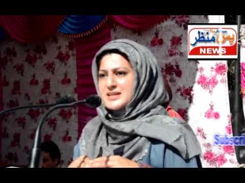 Pasmanzar news(Mlc Dr shehnaz ganai donated  three ambulances at poonch