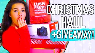 What I got for Christmas 2015 + Giveaway!!