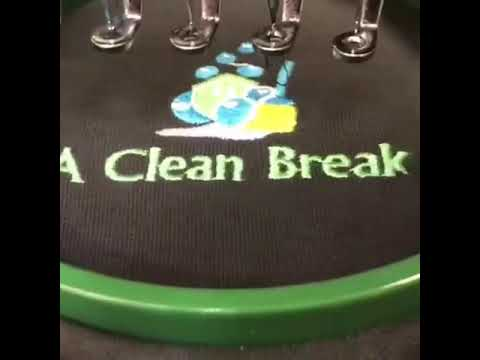 Wizard Printers Embroidery - A Clean Break
