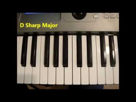 How To Play D Sharp Major D Maj Chord On Piano And Keyboard Youtube