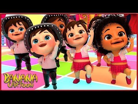 Dance With Me + More Nursery Rhymes & Kids Songs - Banana Cartoons Original Song