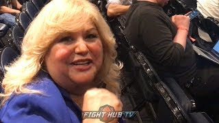 ANDY RUIZ'S MOM REACTS TO HER SON'S INCREDIBLE PERFORMANCE AGAINST ANTHONY JOSHUA