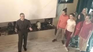 Проба N3. Танцевальная лаборатория Екатерины Стегний. Видео 1