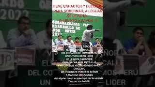 2018 NO A LA CORRUPCIÓN EN EL PERÚ - CANDIDATO A J.L.O.  TIGRE ELMER HUAMAN CALLE