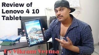Lenovo Tab 4 10 Tablet Unboxing & Review by Vikram Verma