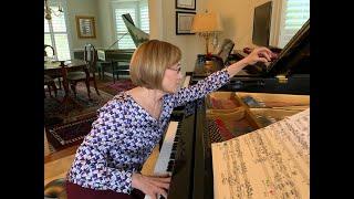 """Lisa Emenheiser performs """"Blues in the Night"""" of George Crumb's """"Eine Kleine Mitternachtmusik"""""""