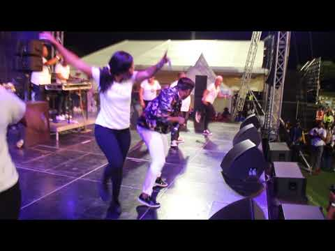 Distruction Boyz ft TPCEE   Madness Hayi Haybo Live Video  at INK HOP FESTIVAL