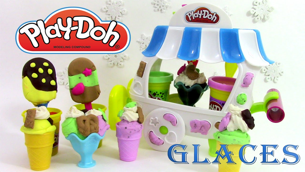 p te modeler glace le chariot de glaces play doh ice. Black Bedroom Furniture Sets. Home Design Ideas