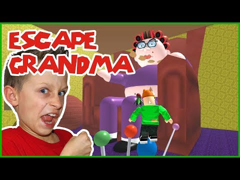 Escaping Grandma's House With Freddy In Roblox