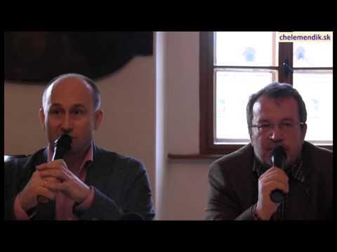 Beseda s Nikolajom Starikovym a Sergejom Chelemendikom - 11.4.2014 v Banskej Bystrici