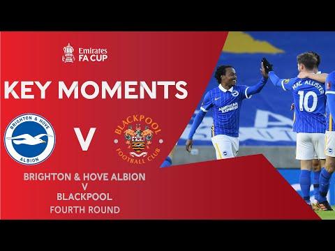 Brighton Blackpool Goals And Highlights