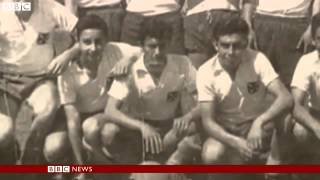 bbc news football team plane found 50 years after crash in chile