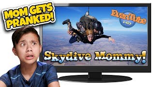 MOM GETS PRANKED!!! Kids React to Skydive Prank! TOP 10 Countdown #7