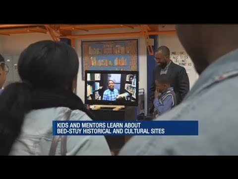 News 12 Brooklyn: Mentor program helps kids learn about Bed-Stuy community, history