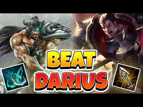 HOW TO COUNTER DARIUS! Tryndamere Vs. Darius - League Of Legends Full Gameplay