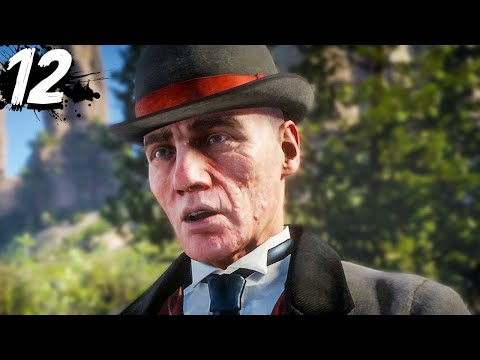 PINKERTONS FINALLY FOUND US - Red Dead Redemption 2 - Part 12