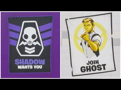 Deface GHOST Or SHADOW Recruitment Posters *FAST METHOD*- Deadpool Week 6 Challenge