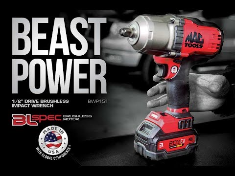 1 2 Cordless Impact >> Bwp151 Bl Spec 1 2 Drive Brushless Impact Wrench Mac Tools