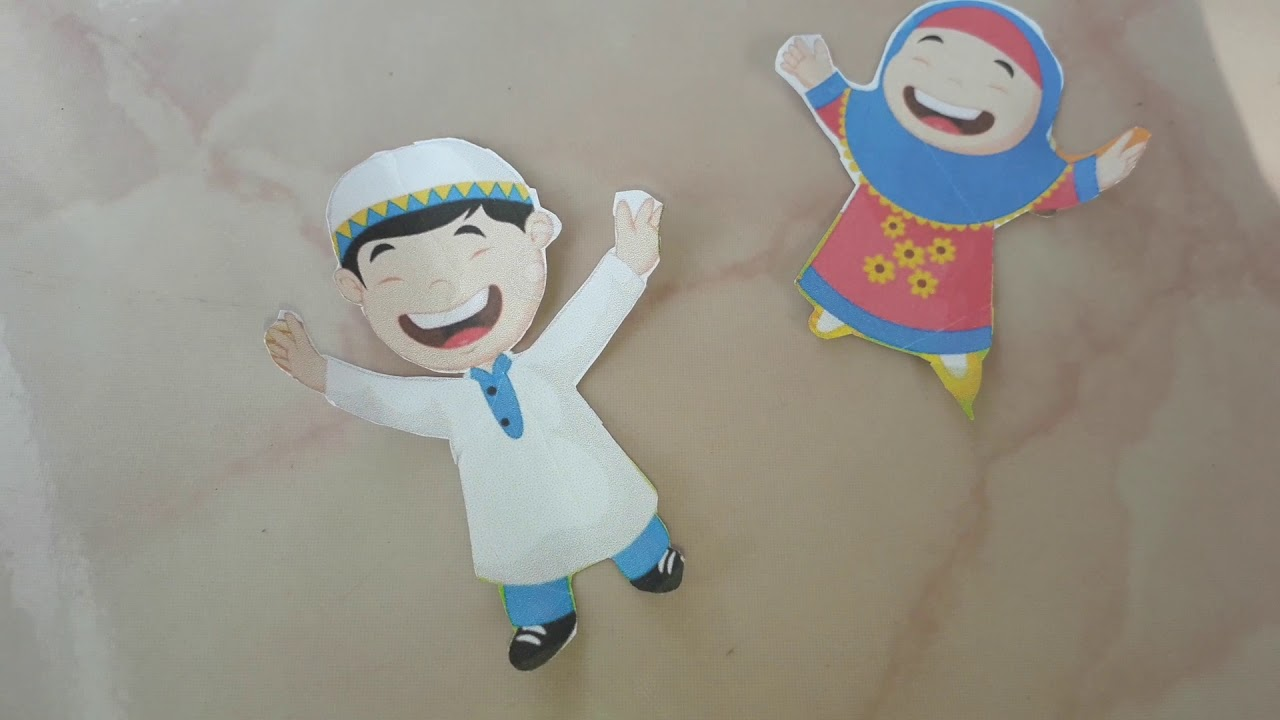 Gambar Montase Kartun Hari Raya Idul Fitri - Aneka Seni ...
