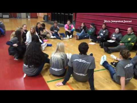 Students from high schools all over Marin attend youth summit Thursday