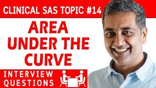 Clinical SAS programmer Interview question 14 - Area under the curve (AUC)
