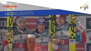 Highlights | Kraft triumphs in Four Hills opener in Oberstdorf | FIS Ski Jumping