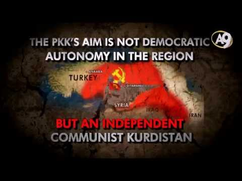 The PKK's aim is not democratic autonomy in the region, but an independent communist Kurdistan