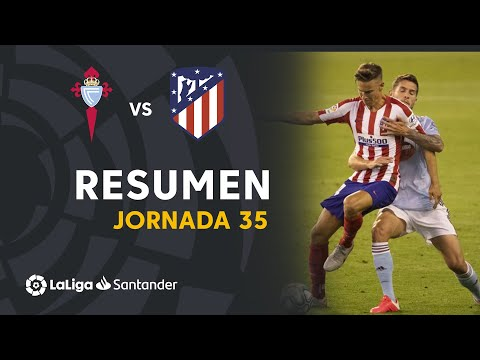 Celta Vigo Atletico Madrid Goals And Highlights