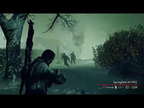 تختيم لعبة Sniper Elite  Nazi Zombie Army | أعلى صعوبة #1 |