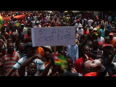 Huge protests in Togo for constitutional reform
