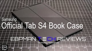 Samsung Galaxy Tab S4 Official Keyboard Case Review is it worth the price?