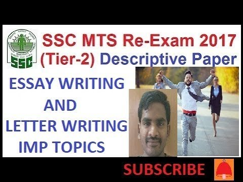 SSC MTS TIER 2 LETTER WRITING// SSC IMPORTANT topics 2017// SSC CGL