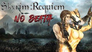 Skyrim - Requiem 2.0 (без смертей) - Бретон-Атронахотрах #5 Битва за шкуру спасителя