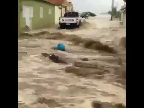 Hurricane Irma destroys Dominican Republic