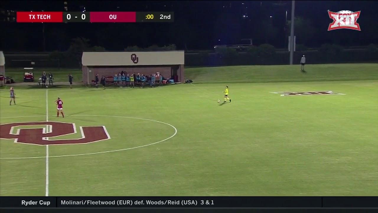 Texas Tech vs Oklahoma Soccer Highlights - YouTube