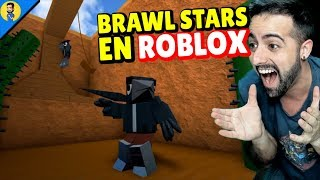 ¡ ¡ BRAWL STARS EN ROBLOX! -Tycoon y Battle Royale