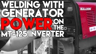 Welding Off Of Generator Power With An Inverter Tig Welder | Tig Time